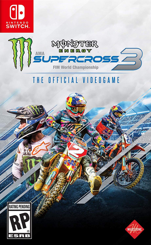 Monster Energy Supercross - The Official Videogame 3 sur Switch