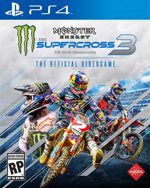 Monster Energy Supercross - The Official Videogame 3 sur PS4
