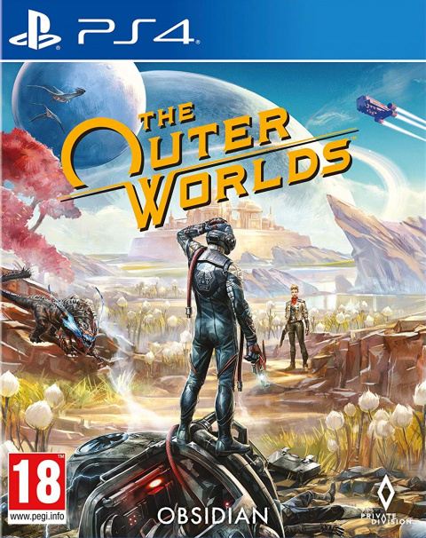 The Outer Worlds sur PS4