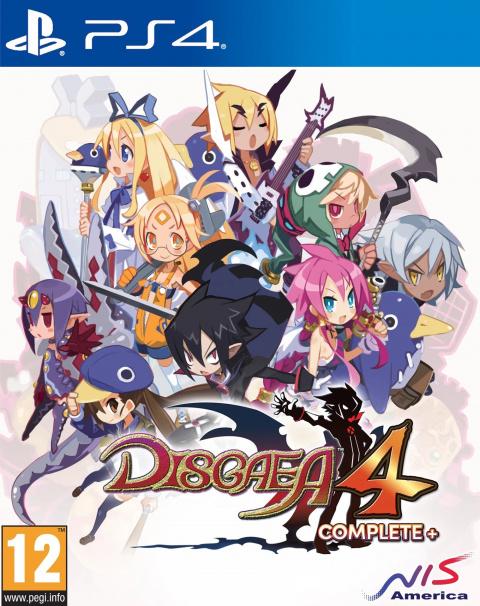 Disgaea 4 Complete+ sur PS4
