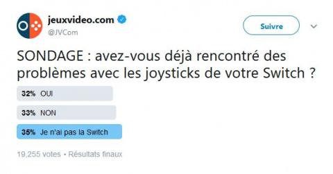 Joy-Con Drift: quand la Switch dérape