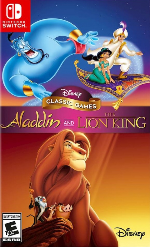 Disney Classic Games : Aladdin and The Lion King sur Switch