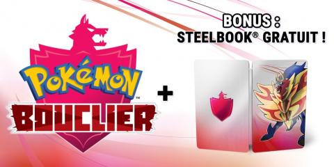 Pokémon Épée / Bouclier : un steelbook offert en cas de précommande sur l'eshop