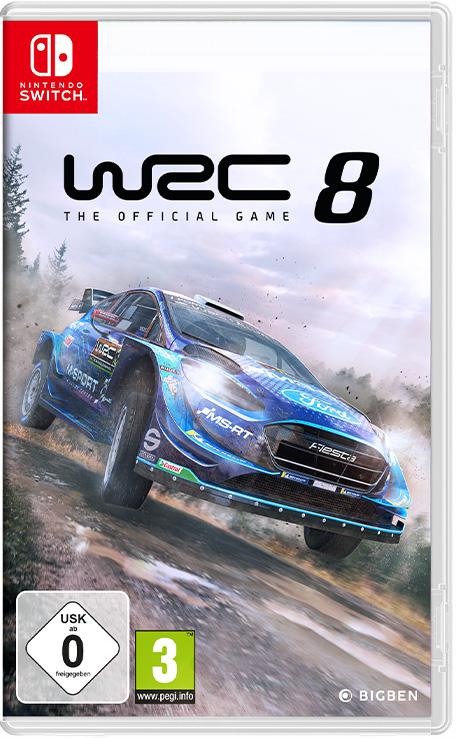 WRC 8 sur Switch