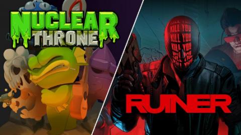 Ruiner et Nuclear Throne bientôt offerts sur l'Epic Games Store