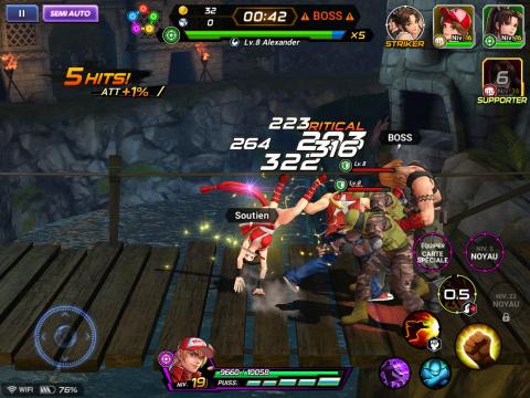 The King of Fighters : AllStar : Un casting impressionnant pour un jeu percutant
