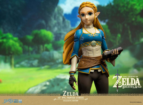 Zelda : Breath of the Wild - La statuette de Zelda First4Figures en précommande