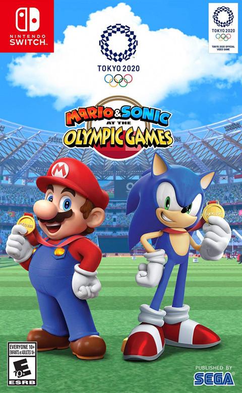 Mario Sonic Aux Jeux Olympiques De Tokyo 2020 Sur Nintendo