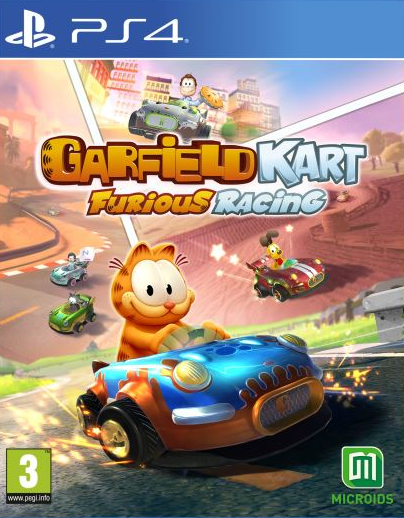 Garfield Kart Furious Racing ! sur PS4