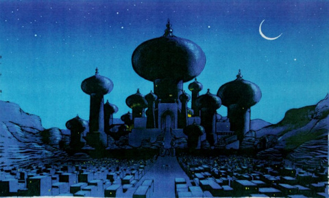 Les coulisses d'Aladdin : La caverne aux merveilles