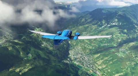 Microsoft Flight Simulator est toujours aussi beau