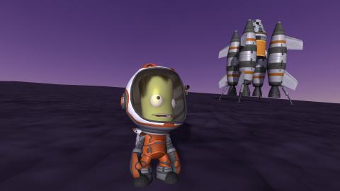Kerbal Space Program propose aux joueurs de récréer le futur lancement SpaceX de la NASA