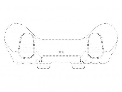 PS5 : Les manettes apparaissent à travers un brevet