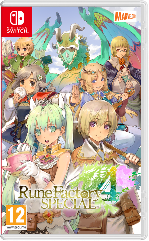Rune Factory 4 Special : Une édition physique standard annoncée pour mars 2020