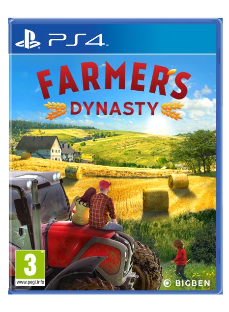 Farmer's Dynasty sur PS4