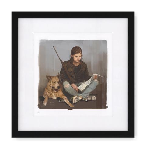 The Last of Us Part II : Des visuels officiels de concept art disponibles en édition limitée