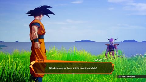 Dragon Ball Z Kakarot dévoile de nouvelles images
