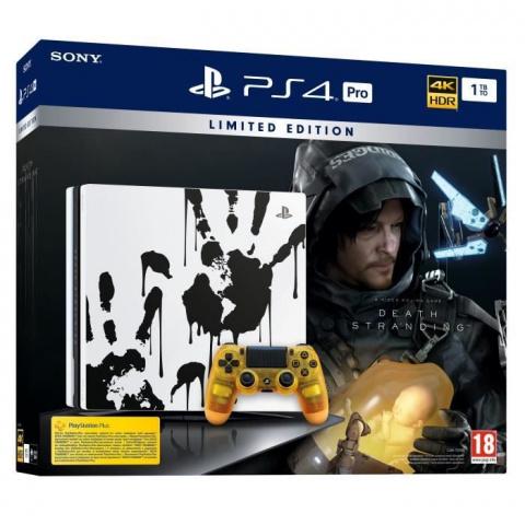 Black Friday : La PS4 Pro 1To Edition Speciale Death Stranding est à 449,99€