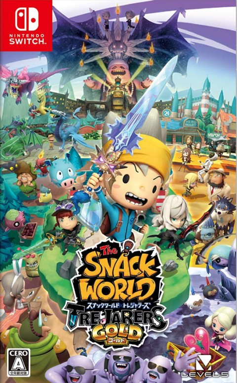 SNACK WORLD : Mordus de donjons – Gold sur Switch