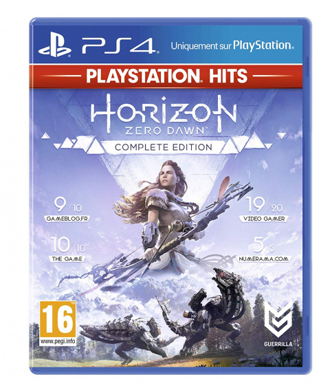 Black Friday : Horizon Zero Dawn Complete Edition à 14,99€