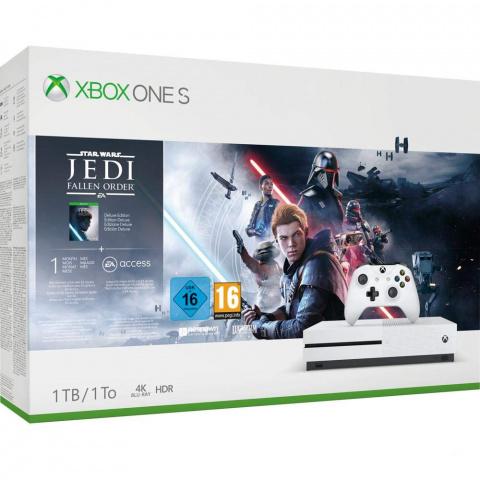 Black Friday : La Xbox One S et Jedi: Fallen Order passent à 179,99€