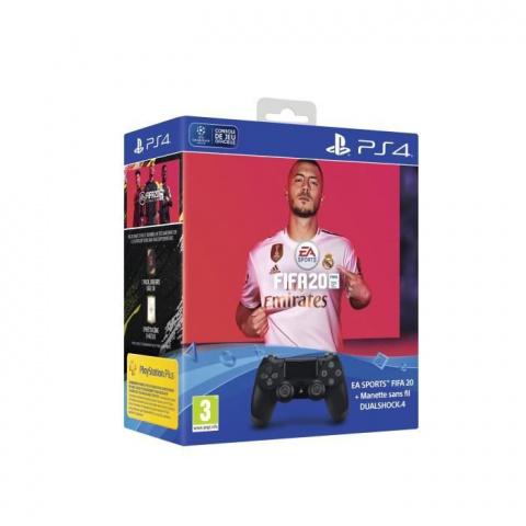 Black Friday : Pack FIFA 20 sur PS4 + manette + points FUT à -30%
