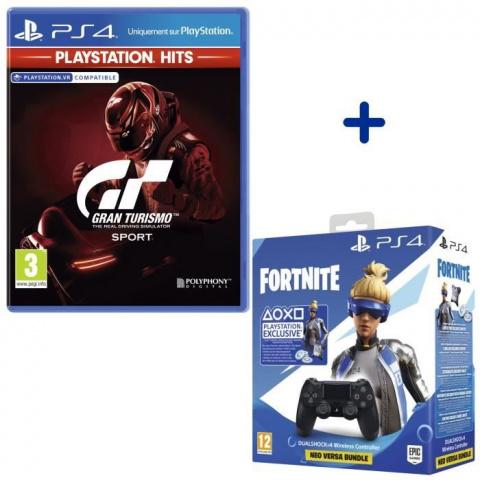Black Friday : Pack manette PS4 + jeu PS Hits à 49,99€
