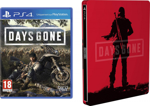 Black Friday : Days Gone édition Steelbook à 29,99€