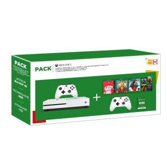 Black Friday : Pack Fnac Xbox One S + Gears 5 + Fifa 20 + Borderlands 3 + 2ème manette + 3 mois d'abonnement Xbox Live Gold