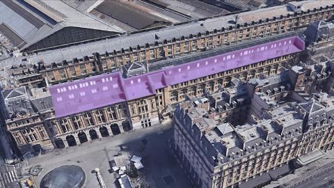 Un musée d'art de 1300 m2 s'installe gare Saint-Lazare