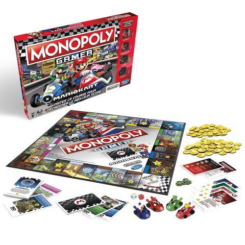 Black Friday : Le Monopoly Gamer Mario Kart à moitié prix