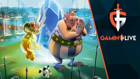 Astérix & Obélix XXL 3 : Distribution de baffes en coopération dans un camp romain