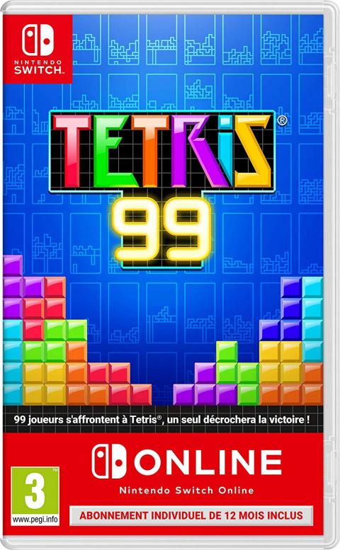 Black Friday : Tetris 99 en version boîte et 1 an de Switch Online à 22,99€
