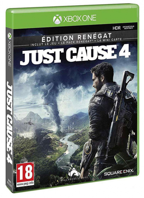 Black Friday : Just Cause 4 - Edition Renégat Xbox One à 10,99€