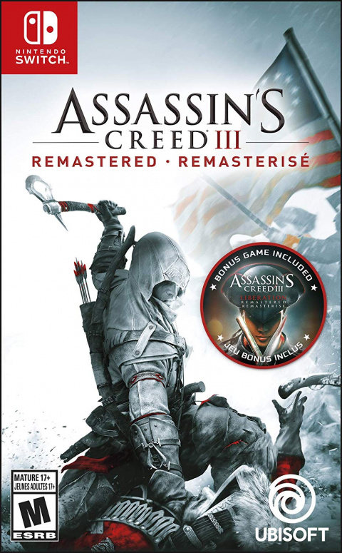 Black Friday : Assassin's Creed 3 + Assassin's Creed Liberation Remastered Nintendo Switch à 19,99€