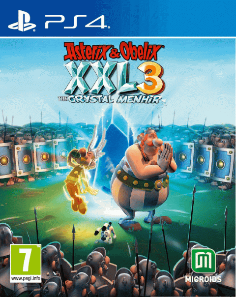 Astérix & Obélix XXL 3 : le Menhir de Cristal sur PS4