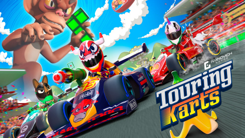 Touring Karts sur PS4