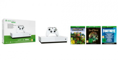 Black Friday :Un pack Xbox One S All Digital avec jeux à 129,99€
