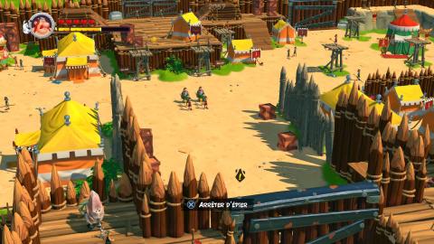 Le village gaulois et ses alentours