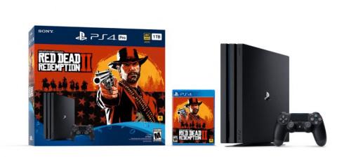 Black Friday : La PS4 Pro + Red Dead Redemption 2 à 288,01€