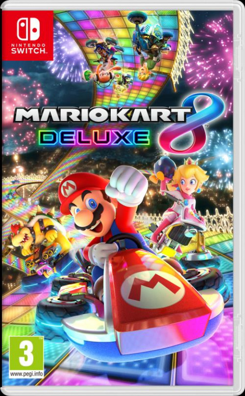 Black Friday : La Switch 2019 avec Mario Kart 8 Deluxe pour 315,04€