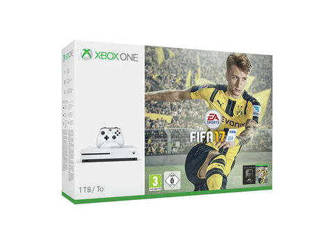 Black Friday : Pack Xbox One S 1 To + FIFA 17 à 129,99€