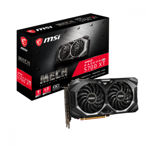 Black Friday : Radeon RX 5700 XT MECH OC 8 Go à 379,35€