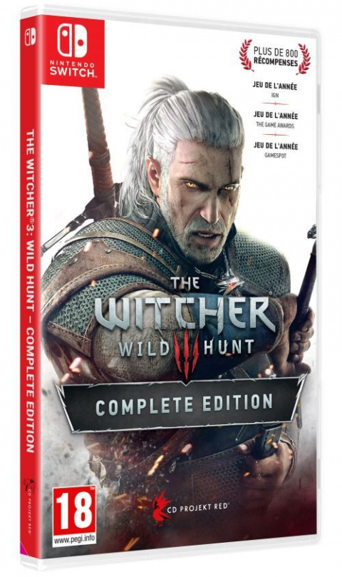 Black Friday : La Switch 2019 avec The Witcher 3 pour 306,04€
