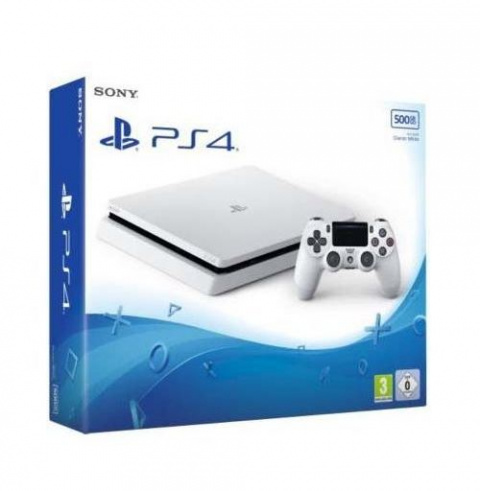 Black Friday : Console Sony PS4 Slim 500 Go Blanc + God of War à 184€51 à la Fnac