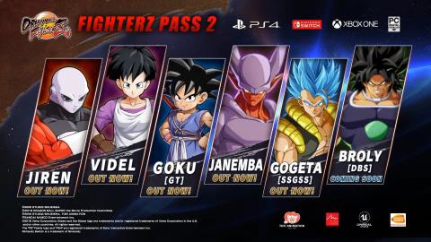 Dragon Ball FighterZ refait le film Dragon Ball Super pour l'arrivée de Broly