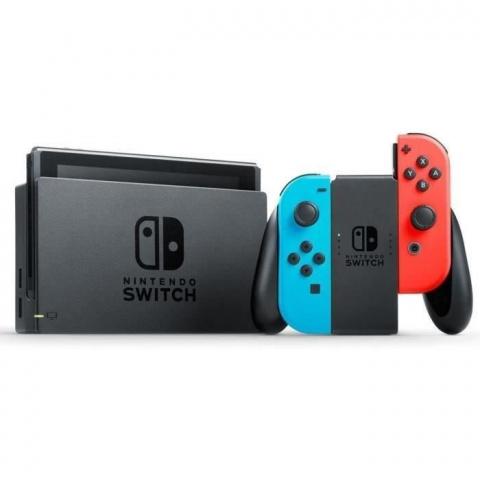 Black Friday : Pack Nintendo Switch Neon + 3 Jeux à 349,99€