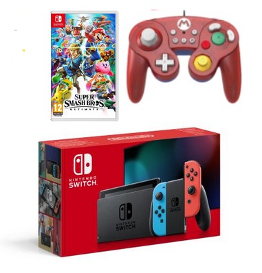 Black Friday : La Switch + Smash Bros + manette et Fnac+ pour 337,83€