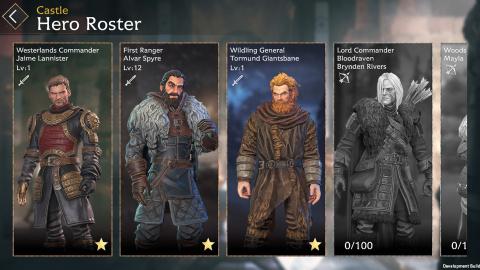 Game of Thrones Beyond the Wall, un RPG tactique mobile avant les évènements de la série