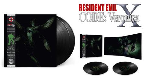Resident Evil : Code Veronica X et Resident Evil Zero : Les doubles vinyles sont disponibles en précommande